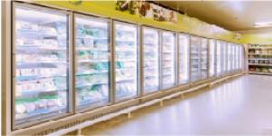 Advanza Narrow Glass Door Freezer/Chiller Multidecks